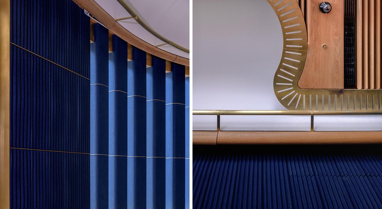 Ecoustic Panel 8mm Neilson Tile Indigo